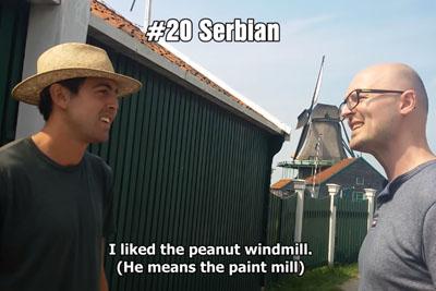 Unique Encounter Between 2 Polyglots Speaking 21 Different Langauges