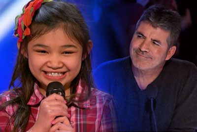 9-Year-Old Singer Stuns The Crowd On America's Got Talent With Her Powerful Voice