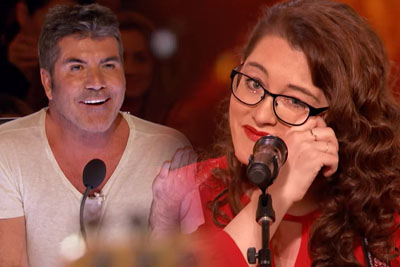 WATCH: 29-Year-Old Deaf Singer Earns Simon Cowell's Golden Buzzer On America's Got Talent