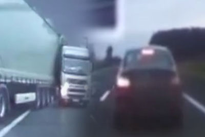 Brake Checking BMW Driver Causes Massive Crash