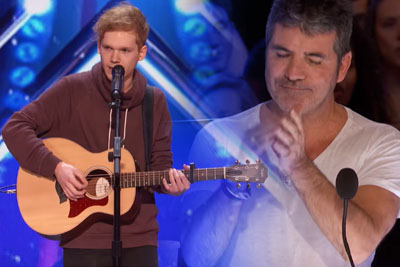 Singer Chase Goehring Impresses All The Judges On America's Got Talent With His Own Song