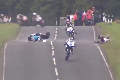 Best Saves And Crashes From Isle Of Man Will Leave You Open-Mouthed