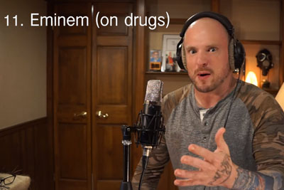 Hilarious Video Shows Singer Rapping In 27 Different Styles
