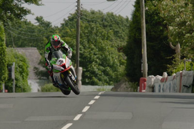 Rider James Hillier Makes An Amazing Save On Isle Of Man TT 2017
