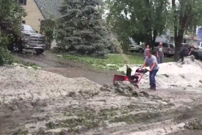 Regardless Of The Month, You Have No Reason To Put Away A Snow Blower If You Live In Minnesota