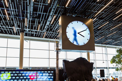 This Clock In The Amsterdam Airport Is The Most Imaginative Thing You Will Ever See