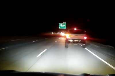 Drunk Driver Was Driving On The Wrong Side Of I-215 Southbound, Cammer Couldn't Avoid Crasing