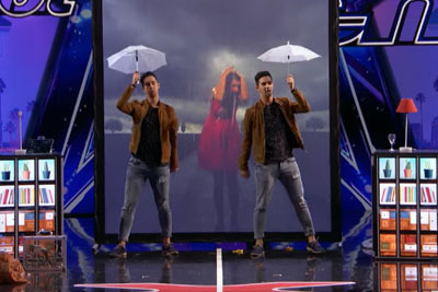 Identical Twins Impress With Their Magic On America's Got Talent