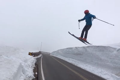 Before You Test Out Your Homemade Ski Jump, Make Sure You Measured Everything Correctly
