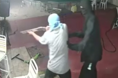 Homeowner Fights Off Armed Robbers With A Machete, Steals Their Shotgun