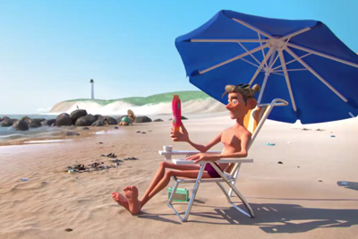 Funny Short Shows Why We Should Never Throw Trashes On The Beach