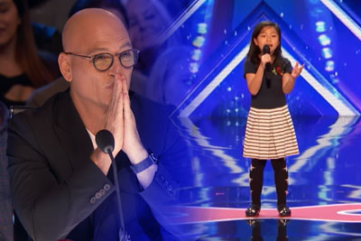 9 Year Old Celine Tam Stuns Judges On America's Got Talent With 'My Heart Will Go On'