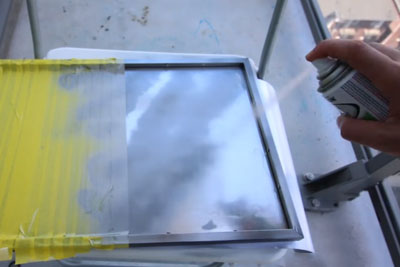 Did You Know You Can Buy A Mirror As A Spray Paint?