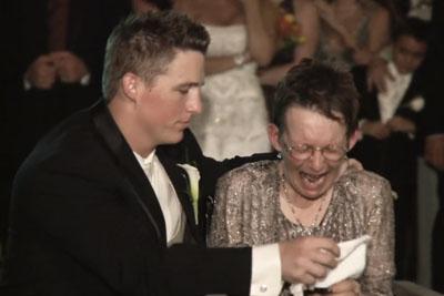 Mother Can No Longer Walk For Wedding Dance, Groom's Solution Make His Bride Weep