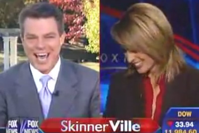 """Jane Skinner """"Top Cock"""" Blooper On FOX News"""