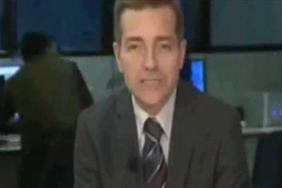 Italian News Room Fight