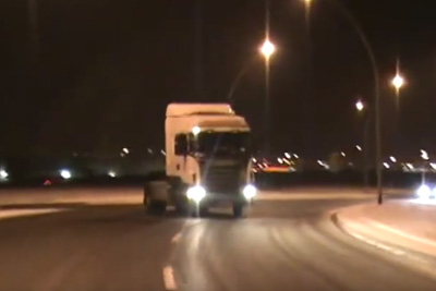 Truck Drifting