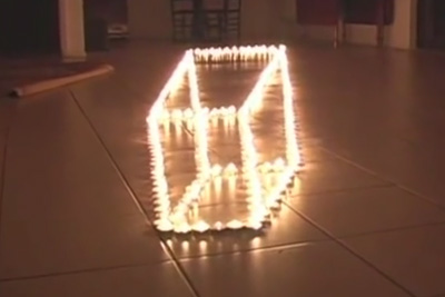 Amazing Fire Illusion
