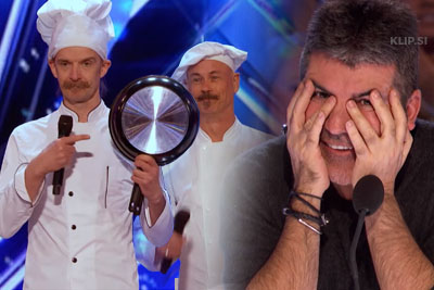 Two Chefs Perform Unusual Act On America's Got Talent That Leaves All The Judges In Shock