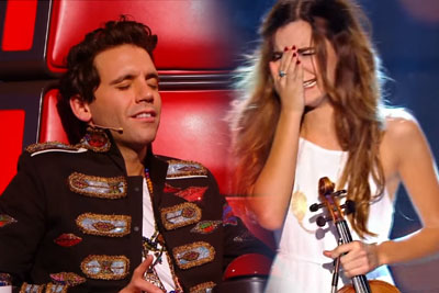 Girl With Violine Impresses All The Judges With Outstanding Coldplay Cover