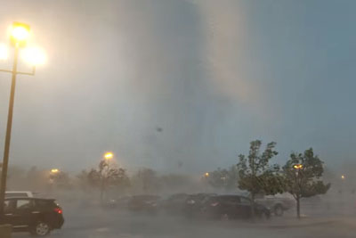 WATCH: Destructive Tornado In New Jersey Captured On Camera