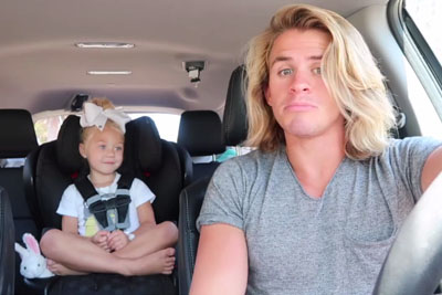 WATCH: Father Was Sitting In The Car With His Cute Daughter, Their Next Move Is Going Viral