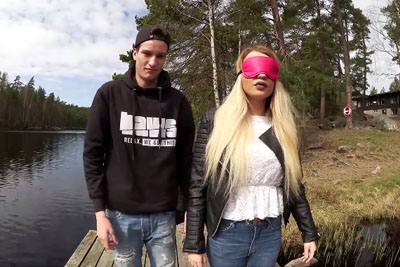 He Blindfolded Her For A Special Surprise, She Won't Forgive Him For The Rest Of Her Life