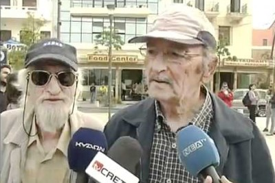 Old Man Interrupts News Interview With Hilarious Animal Noises