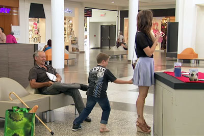 Watch This Woman And Little Kid Prank A Few Men So Good