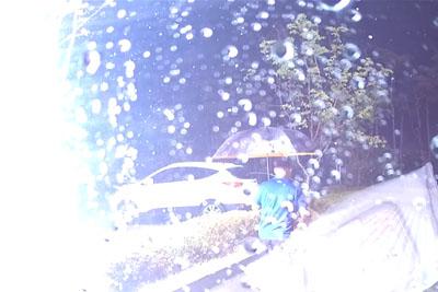VIDEO: Dashcam Captures Shocking Moment When Lightning Strikes Next To A Pedestrian