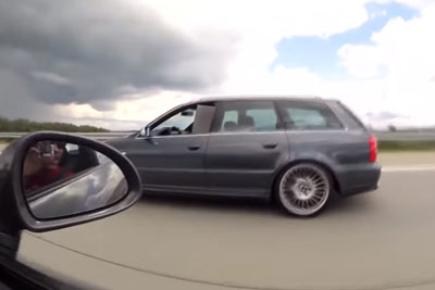 Cocky Porsche 911 Driver Messes With The Wrong Driver On Autobahn
