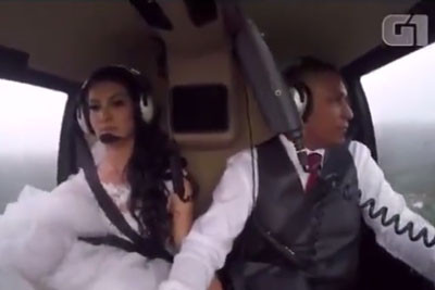 WATCH: Helicopter Carrying Bride to Wedding Ceremony Crashes, Killing All People On Board