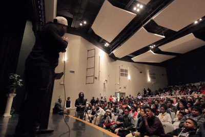 Motivational Speaker Goes Off After Being Disrespected By High Schoolers