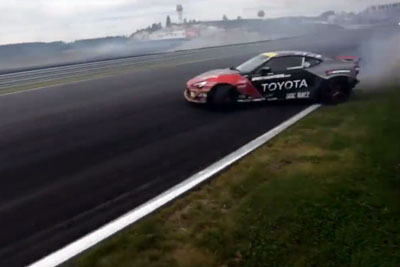 WATCH: Insane Drifting Captured On Camera At 136 MPH