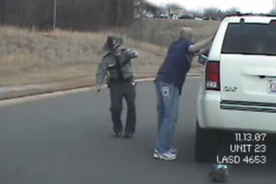 Drunk Cop Stops A Driver To Make A Sobriety Field Test, Then Something Hilarious Happens