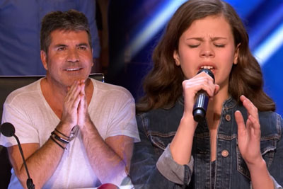13-Year-Old Singer Angelina Green Impresses All The Judges On AGT, Gets Golden Buzzer