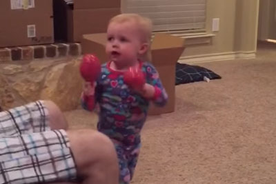 Sassy Toddler Steals Whole Show By Shutting Down Dad For Playing Her Maracas