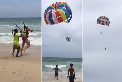 WATCH: Australian Tourist Falls To Death While Parasailing In Thailand