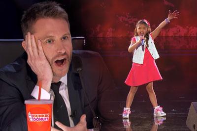 9-Year-Old Blows Judges Away On America's Got Talent, Earns A Golden Buzzer