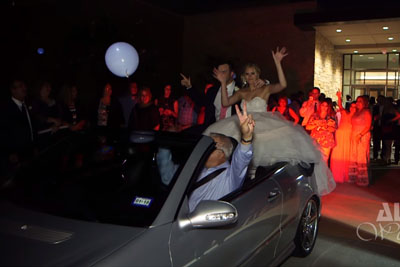 Wedding Celebration Goes Wrong When Old Man Speeds Off With His Car