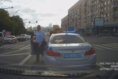 Traffic Officer In Russia Cuts Cammer, Gets Fined For His Actions