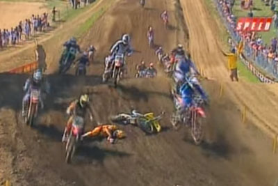 Most Shocking Motocross Crash In The History Leaves Rider Near Death