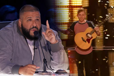 Chase Goehring Gets Golden Buzzer From DJ Khaled On AGT For Singing An Original Song