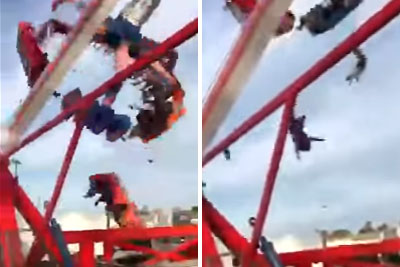 VIDEO: Horrific Ride Failure Kills One And Injuries Seven At Ohio State Fair