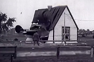 Early Flying Failures Captured On Camera, Her Is Stock Footage