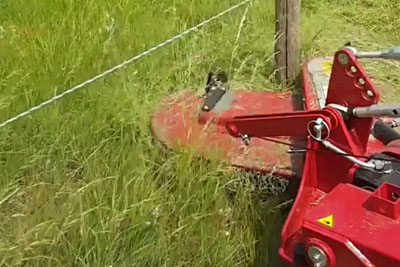 Do You Have Problems Mowing Grass Around Trees? This Is A Lawnmower Everyone Wants!