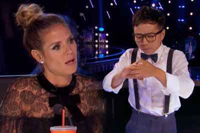 South Korean Magician Amazes All The Judges On AGT With Hidden Card Trick