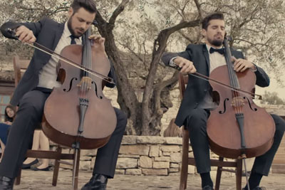 2CELLOS Play The Godfather Theme On Their Violin In Best Way Possible