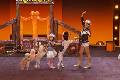 Pompeyo Family Dogs Steals All The Show With Amazing Tricks On AGT