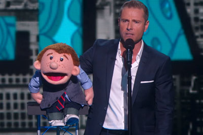 Ventriloquist Gets Mad During Show, But Watch His Dummy After He Storms Off The Stage